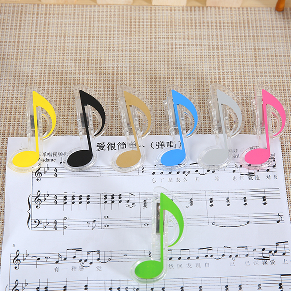 musical note stationery folder paper <strong>clips</strong> for sale