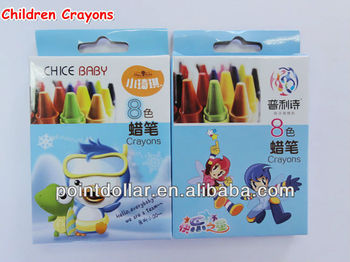 Children Crayons/ Crayon Sets for Lovely Children/ Crayon Set 8