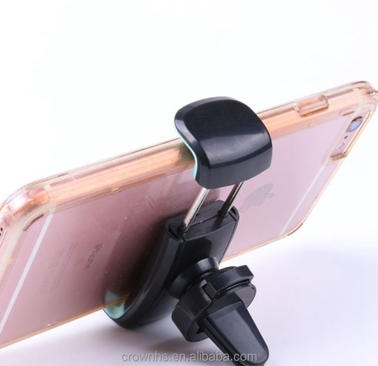 Best Universal Mini Car Air Outlet Holder Stents Vent Mount Support For Cell Phone Mobile Car Phone Holder Car Air Vent