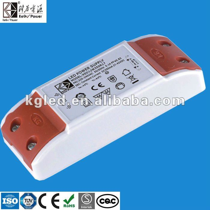 24V 450mA 700mA constant current LED driver with TUV CE