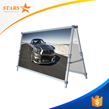 Factory Supply Outdoor Banner Frame , Wholesale A Frame Signs