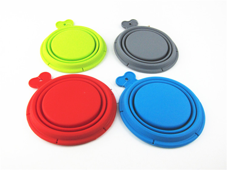 Outdoor travel Collapsible silicone Pet Bowl For Puppy Dog cup dish