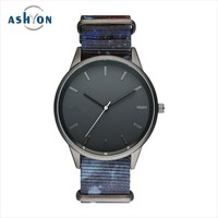 slim stone quartz watches boy watch watch leather band