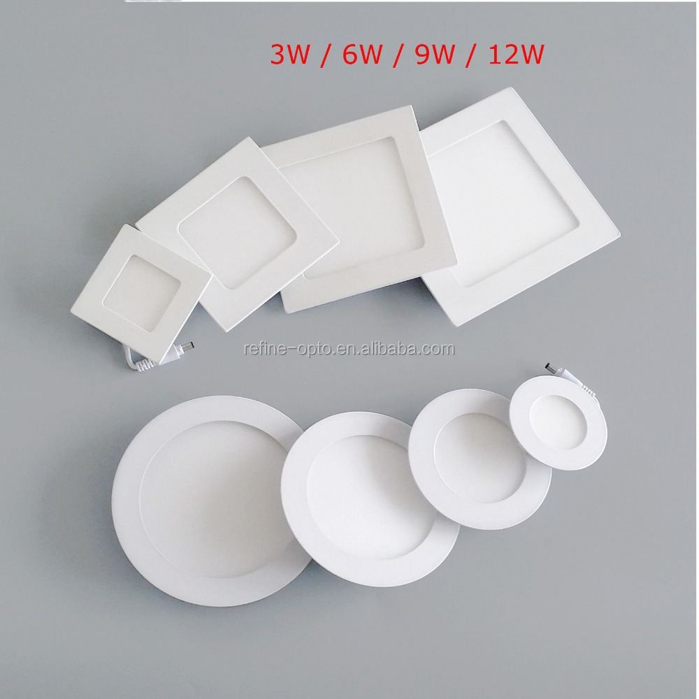 Whoesale led round and square panel lighting , CRI 80 3 warranty years 25w led slim panel , waterproof 60*60 price
