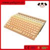 shenzhen bamboo wireless bluetooth keyboard