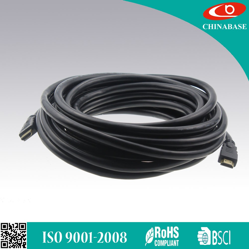 BSCI approved for computer PE jacket hdmi cable 2.0