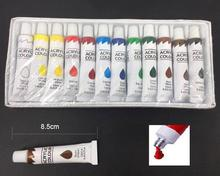 Professional Acrylic Color 12 Colors Acrylic Paint,Oil Paint Drawing Kit