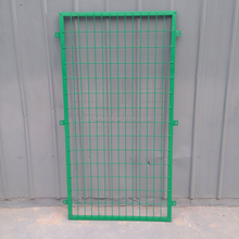 Iron fence customizable dipped green silk screen mesh