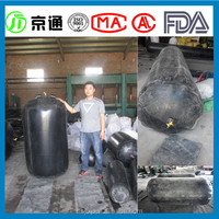 Inflated Rubber Balloon for pipeline