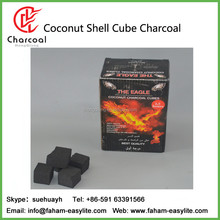 11.11 Global Soursing Festival HongQiang 2.5*2.5*2.5cm cubes coconut shell shisha charcoal