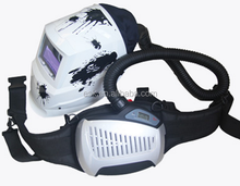 air purifying welding helmet with air filter and respirator 4011FP5122