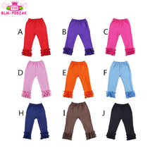 New Arrival Cotton icing ruffle pants baby clothing busha adult baby pants