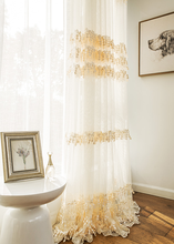 modern polyester fabric for lace curtain