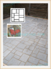 Recycled Rubber pathway Patio Pavers/ block mold for path