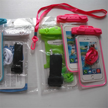 Wholesale unbreakable IPX8 luminous waterproof case for cell phone