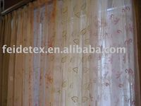 American Size High quality hot selling fancy Waterproof Window Curtain