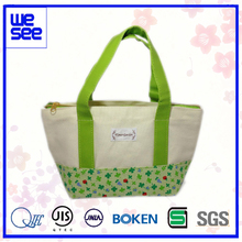 Popular Green flower Combo Lunch Cooler Bag