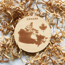 2018 Educational wood slice art minds puzzle world map souvenirs