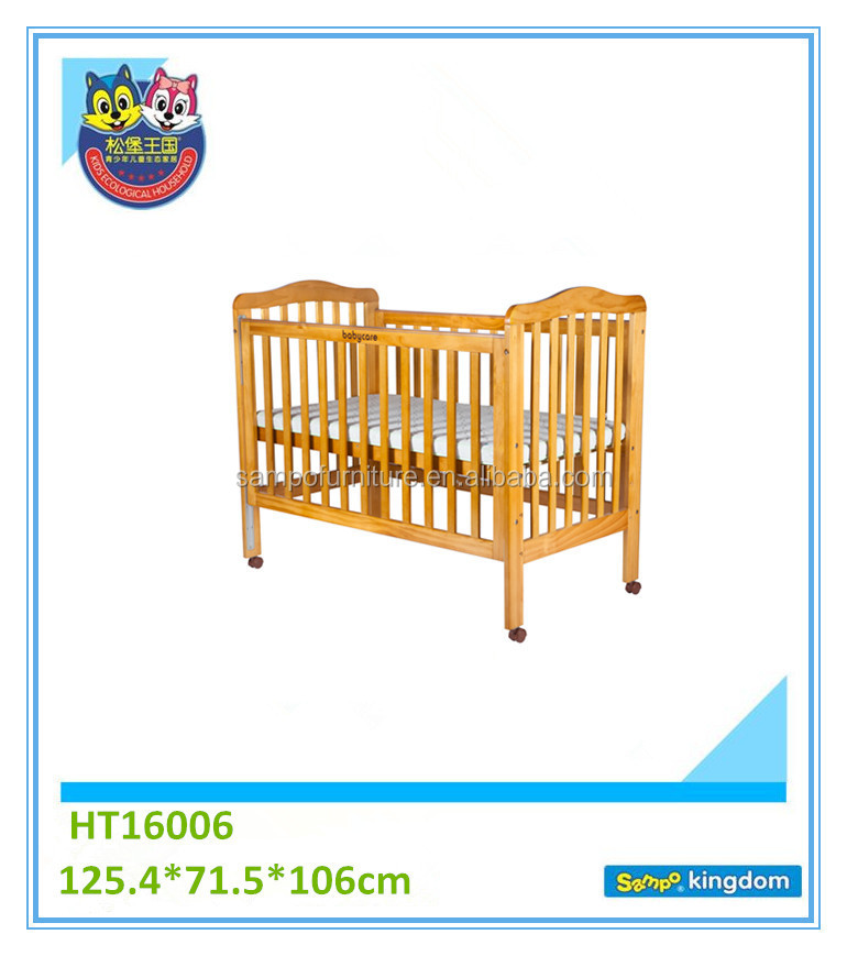 small white baby crib solid wood baby crib for bed