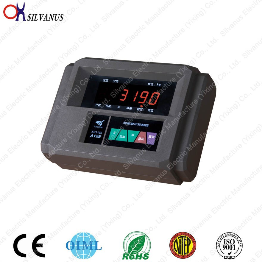 yaohua A12E weighing indicator for platform scale