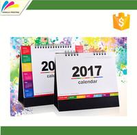 Custom design desktop calendar