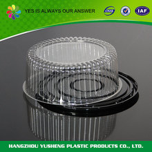 Cheap promotional disposable cake clear box