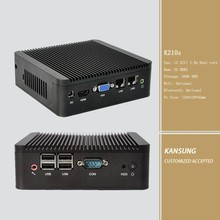 "Cheap I3 industrial MINI PC 500G 2.5"" hard disk 2G ddr3 ram Ubuntu WIN8 HD Moive small gaming pc"