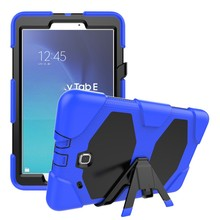 Shockproof Tablet Cover Case For Samsung Galaxy Tablet Tab E T561 Heavy Duty Style