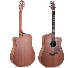 "HAN-2300D Wholesale custom 41"" Dreadnought cutaway Laminated Acoustic Guitar"