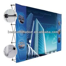 2014 Hot sale 3x3 pop up displays,aluminum magnetic pop up display stand,velcro pop up display stands