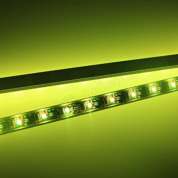 Full color wholesale OEM 5v led light bar cheap ws2801 led strip bar light