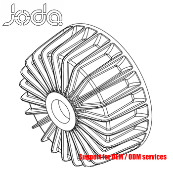 Wind Turbine Accessories Low Pressure Resin Sand Aluminum Casting