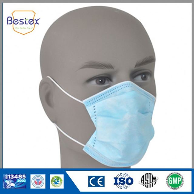 Single Use Medical Disposable Face Masks For Allergies