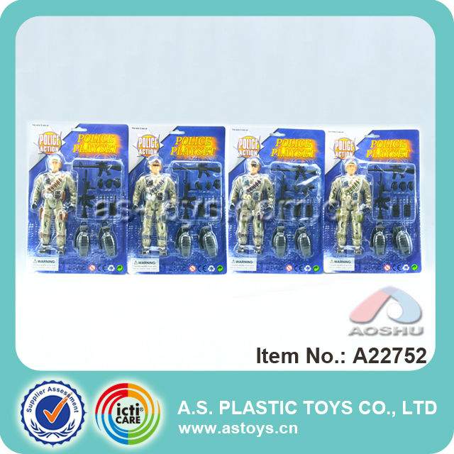 Hot Selling kids military set mini plastic toy soldiers