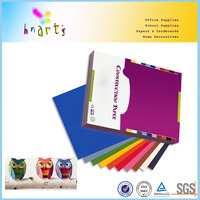 wholesale construction paper for school using