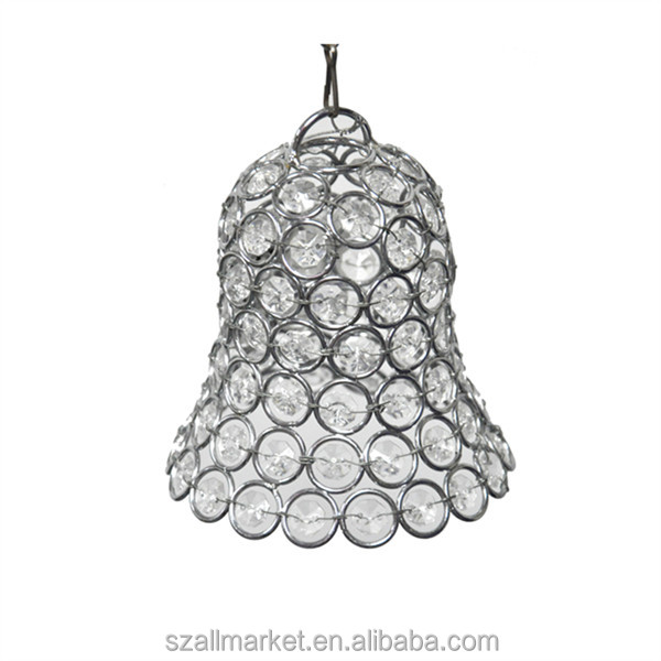AMN1017 event decor little bell crystal chandelier