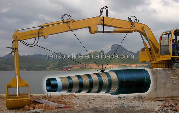 Crane Hydraulic Hose, Good Quality Crane Hydraulic Rubber hose, hydraulic hose used in Crane