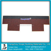 China Low Price Roofing Shingle For Roof System