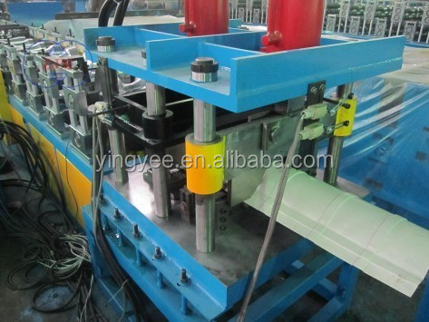 PLC Control Metal Roofing Ridge Cap Roll Forming Machine, Ridge Cap Roll Forming Machine, Ridge Cap /312/317 size