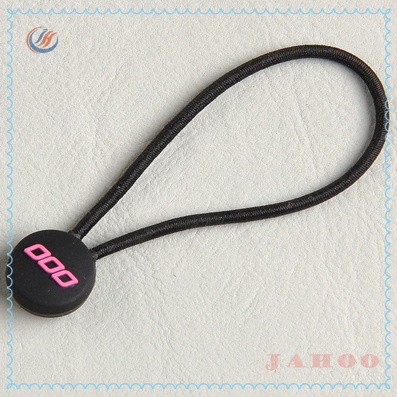 Factory Direct Custom Rubber Zipper Puller With Rope For Garment,Bag