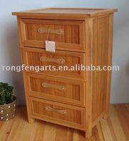 wooden cabinet & furniture with bamboo drawers