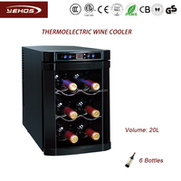 20L thermoelectric mini wine cooler/cellar/chiller