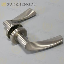 Factory price Popular Round Stainless Steel Square Rose Designer Door Handles with good price