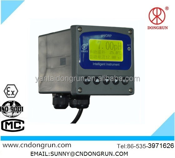 High Accuracy PH ORP online meter panel-mounted PHS-8D