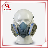 hot sale double filter half face gas mask