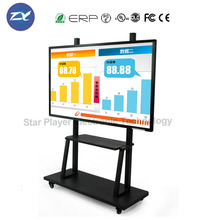 Star Player 55''65''75''80''84'' electronic teaching board smart interactive whiteboard for teaching/meeting/training