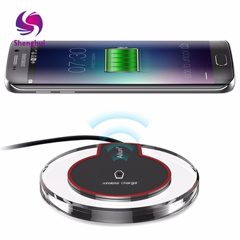 Custom Design Fast Phone Charger QI Wireless Charging Pad