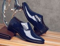 New Luxury Brand Men's leather Shoes Male Formal Wedding Oxfords dress shoes
