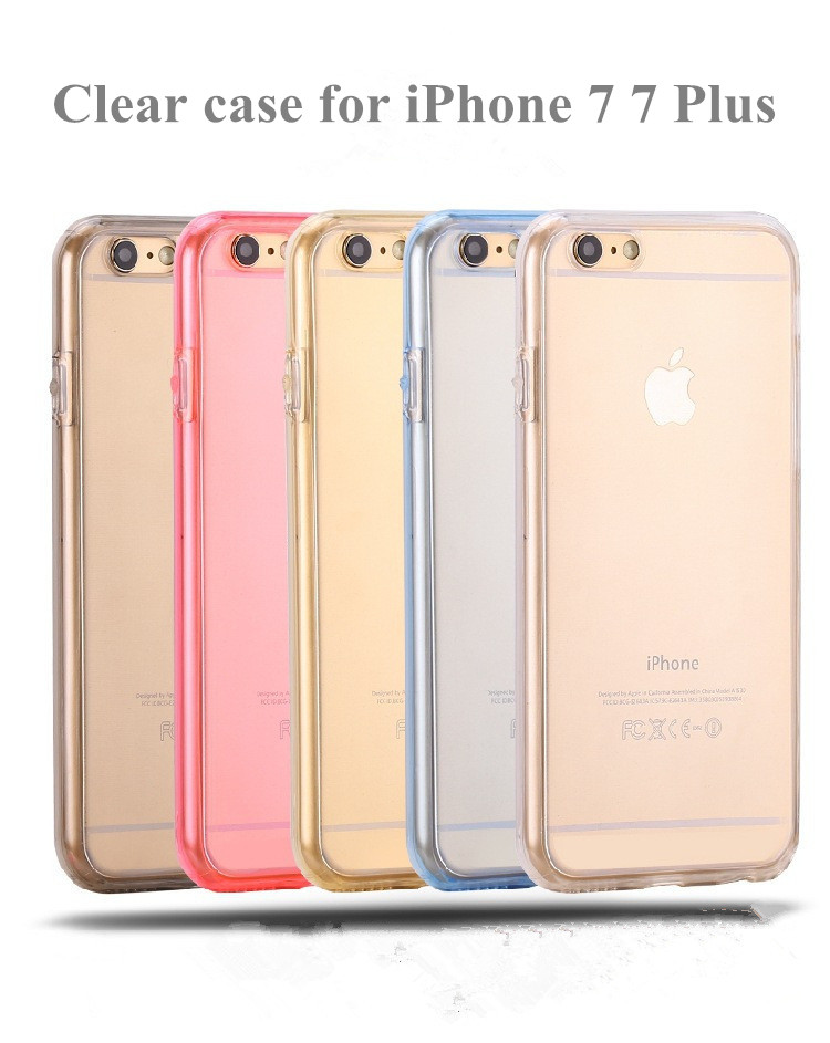 New product transparent case for iphone 7plus case