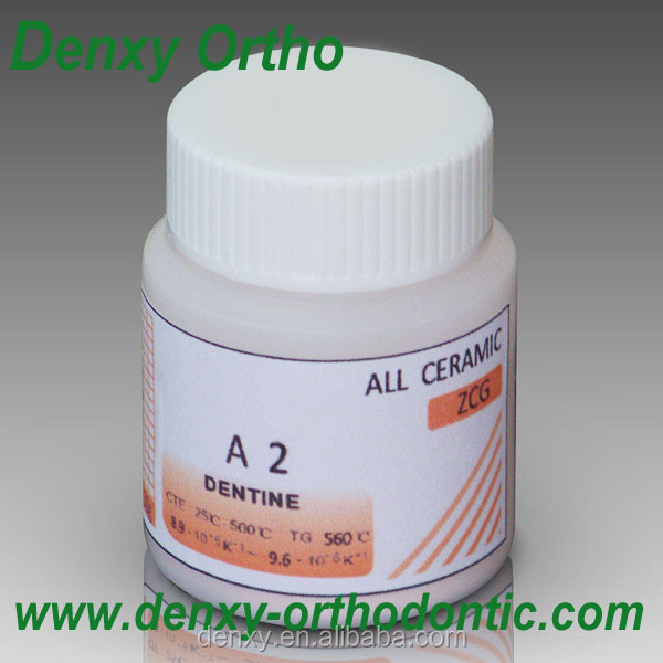 Dental Zirconia Porcelain Crown, dentine metal alloy suitable ceramic powder